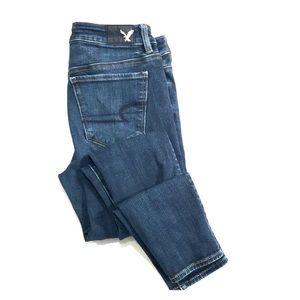 American Eagle 360 Hi-Rise Jegging Size 4 Jeans
